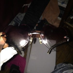 Cartier Buffalo Horns Buffs Heart Shape Lenses